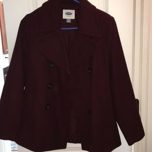 Old Navy wool pea coat